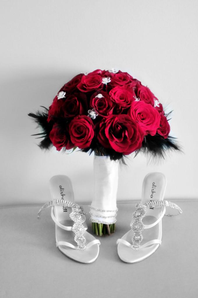 cake, wedding cake, stephy wong photography, wedding details, red wedding bouquet