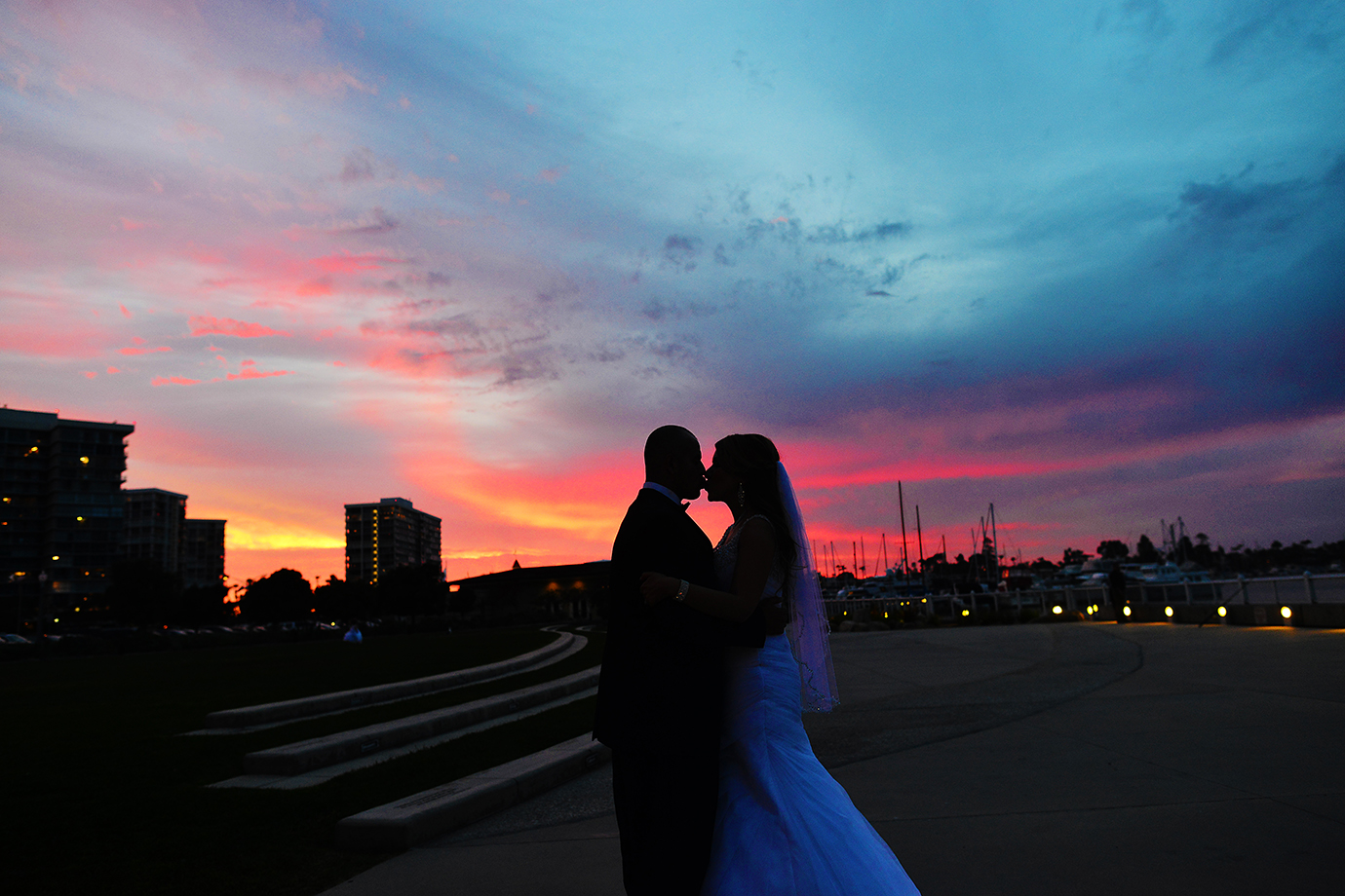san diego weddings, southern california weddings. stephy wong photography, sunset