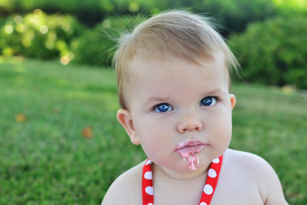 baby cake smash, temecula baby portraits