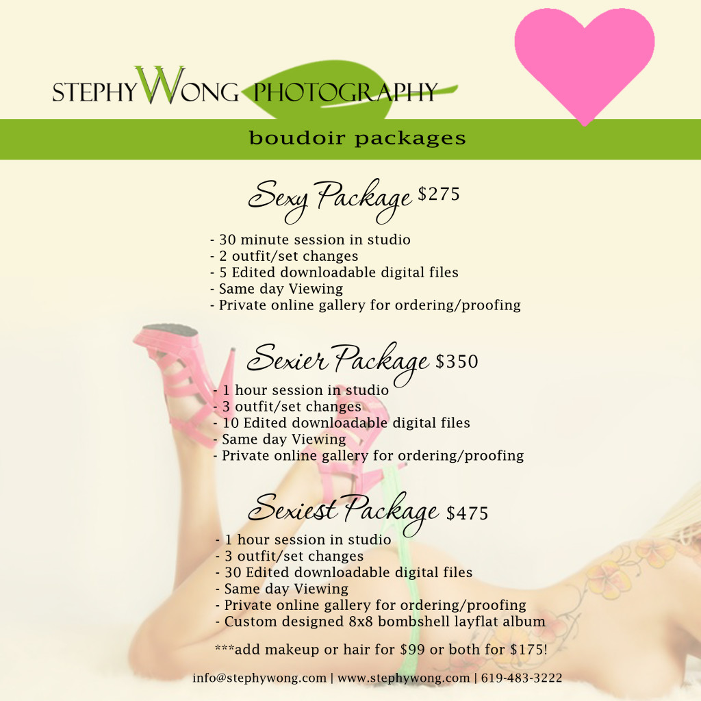 stephy wong boudoir packages studio